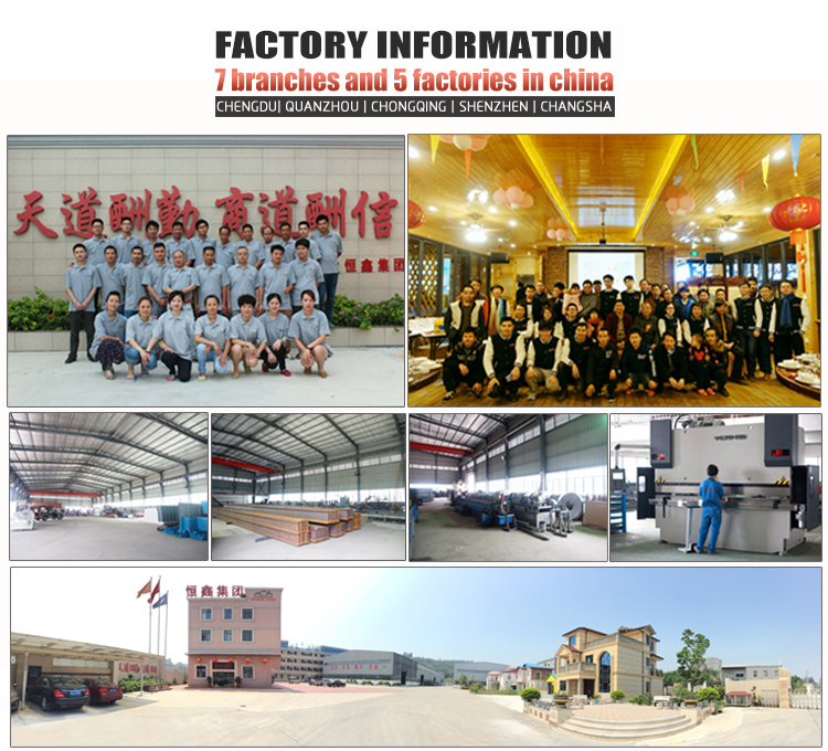 InfiCreation modern prefabricated steel warehouse customized for factory-6
