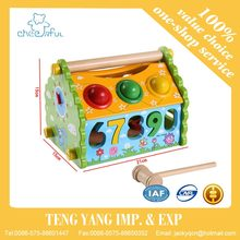 China supplier Multifunctional disassembly knocked the ball House, baby toys educational toy