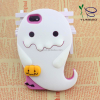little white monster silicone phone cover cases for windows phone