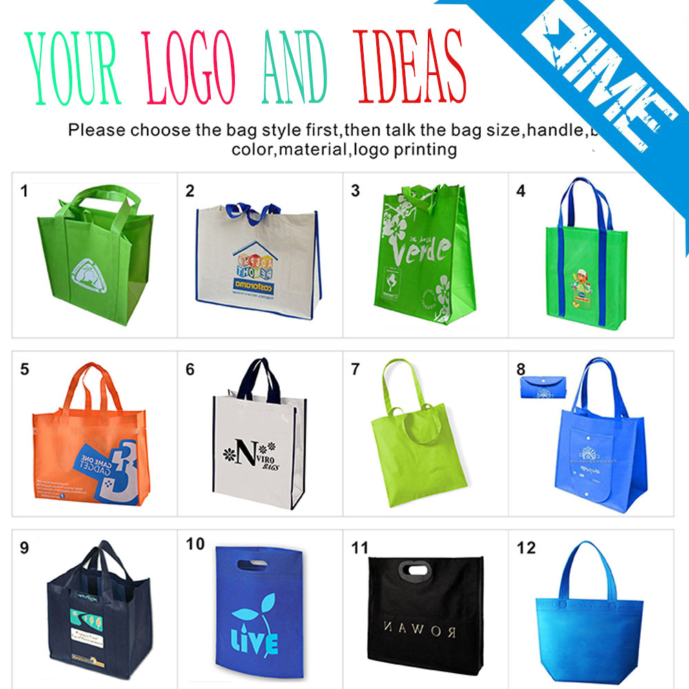 Machine Made Eco Friendly Non Woven Bag ,Non Woven Gift Bag Custom Non Woven Bag