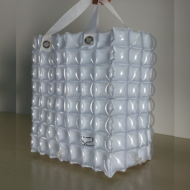 High quality small inflatable bubble bag for promotion