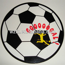 Football design decorative fridge magnet wall stickers