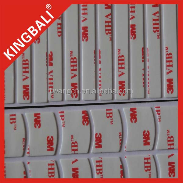 Die cutting 3M 200MP 467MP tape double sided adhesive