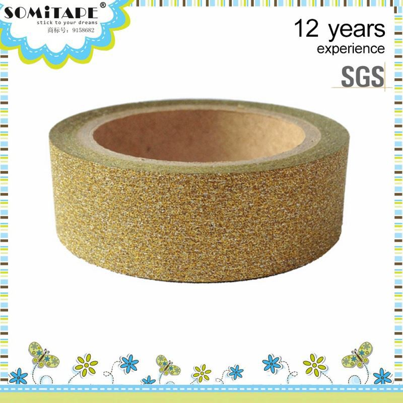 Heat-Resistant Glitter Powder Tapes For Diy Hand-Made Art Working