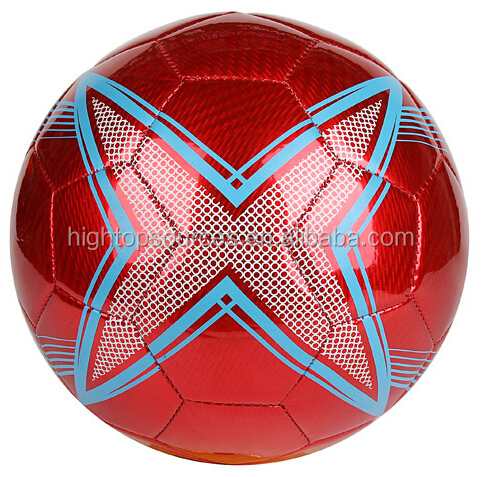official size and weight soccer ball football cheap soccer balls in bulk orange and blue