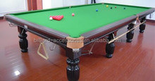 Interenational Standard solid wood with slate 12 ft billiard snooker table