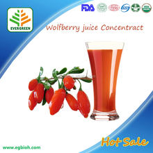 Organic wolfberry juice/ wolfberry juice concentrate in Bulk