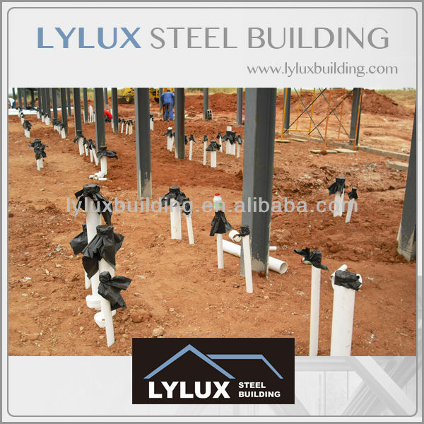 Plumbing system & foundation site work building hotel prefabricated hotel building construction