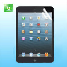 2013 Newest model high quality PET material for ipad mini screen protector
