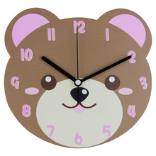 Mdf diseño animal <span class=keywords><strong>de</strong></span> la forma <span class=keywords><strong>de</strong></span> dibujos animados <span class=keywords><strong>reloj</strong></span> <span class=keywords><strong>de</strong></span> <span class=keywords><strong>pared</strong></span> 2015 new products