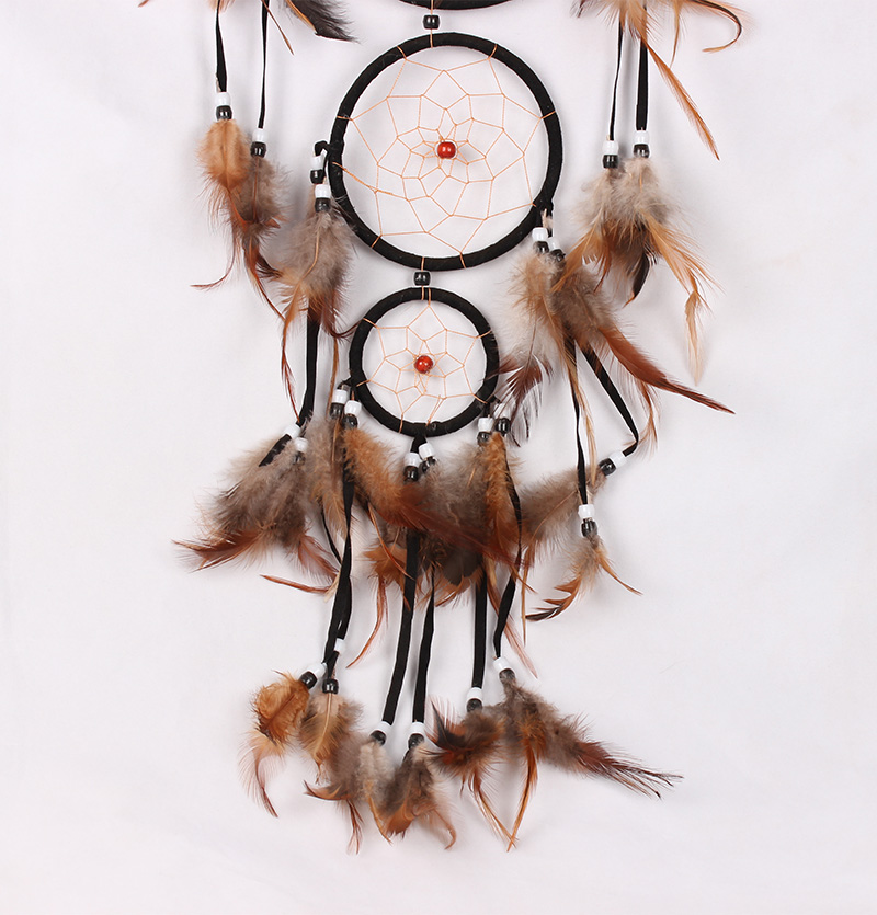 Wolf painting photo Wall hanging Decoration Dream Catcher MS8040