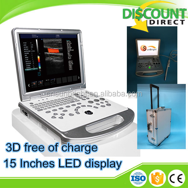 3d color doppler ultrasound scanner sun-906s/vga video interface support