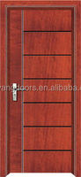 2016 new design Middle east interior solid meranti/teak veneer wooden door