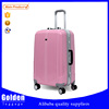 2015 Elegant Cheap Colorful ABS Printed Hard Shell Cabin Luggage