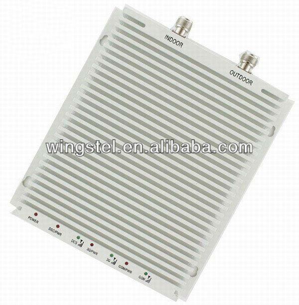 WT-8000 GSM/DCS/3G Tri-band Mobile Phone Signal Repeater/Amplifier/Booster