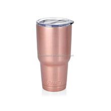 Personalized Swig 30 OZ Rose Gold Tumbler