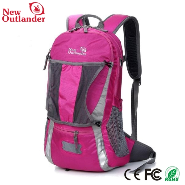 Canvas school bags trendy backpack outdoor adventure backpack