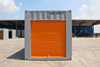 cheap and beautiful side open rolling shutter door self storage container