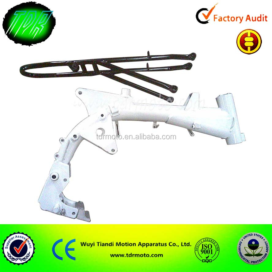 China Motorcycle Dirt/Pit Bike Durable Metal Frame Bodies,CNC steel Frame