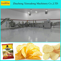 factory price automatic potato chips making machine