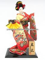Figurines made in Japan souvenir items Suehiro dolls