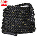 Battle Rope Strength Power Fitness Training Gym Cardio Sport Workout