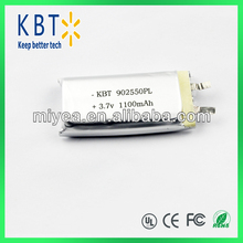 1100mah Rechargeable Battery 902550PL for PC tablet