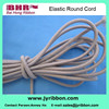 High stretch colored weave band braid rubber cords
