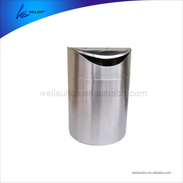 Factory Price Stainless Steel Sheet waste trolley bin