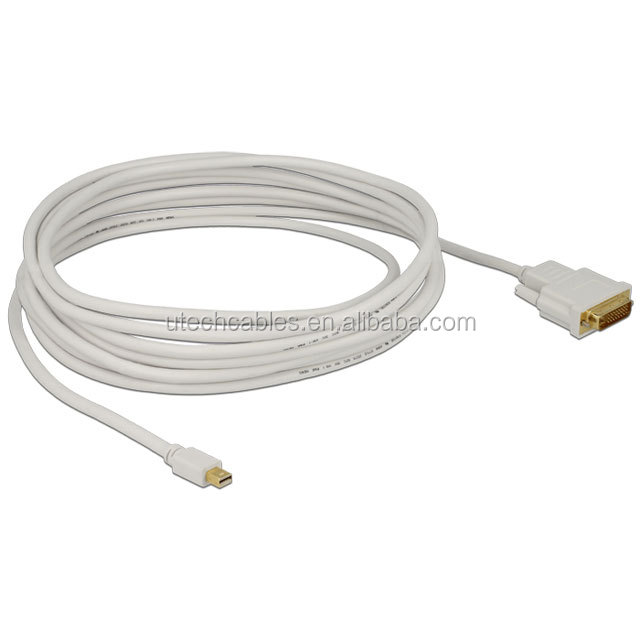 Male to Female Mini DP to DVI Adapter cable