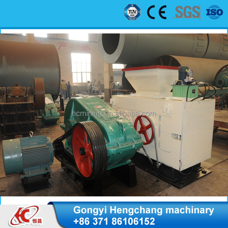 high capacity cow dung briquette making machine