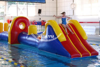 cheap inflatable water sports extreme sports in swiming pool with logos damp proof course