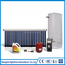Split Pressurized Balcony Solar Water Heating System Vacuum Tube with U Pipe Solar Water Heating System for Home