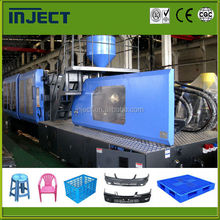 Plastic crate making machine injection molding machine IJT650 MAX1600T