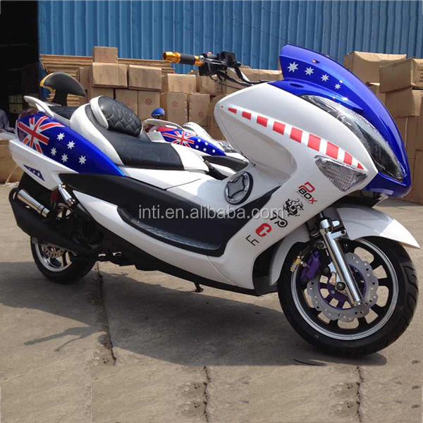 Japan hot sale new big 150cc eec pedal automatic gas scooter cruiser motorbike motorcycle
