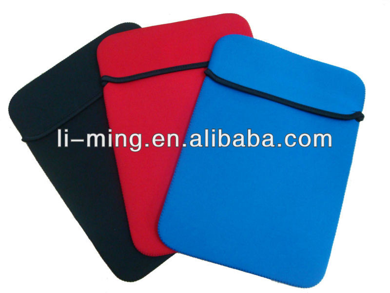 Promotional fashionable neoprene laptop bag/sleeve without zipper