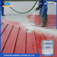 AB303 waterproof excellent anti corrosion cement roof silicone coatings