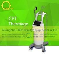 Body mechanism improving radiofrequency facial and body beauty machine
