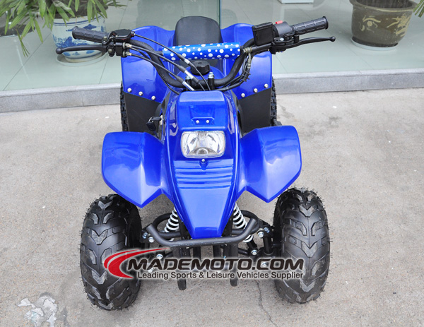 New design powerful 4-wheeler water cooled trade assurance atv 80cc for adults