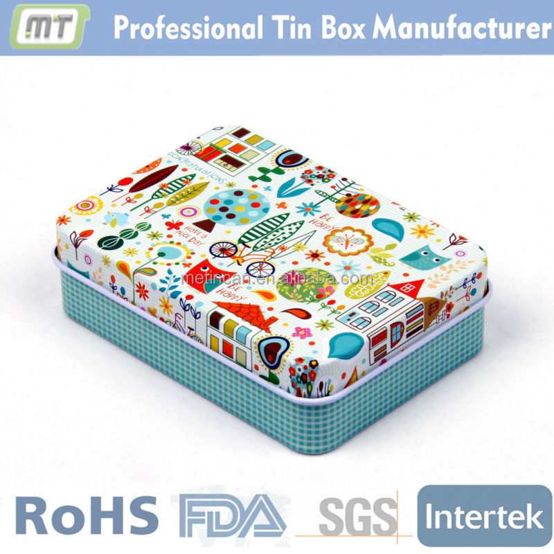 professional manufacturer tin food can for cookie package
