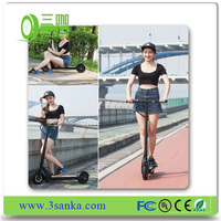 Newest 35km/h long range CE/RoHS cerificated foldable cheap electric scooter