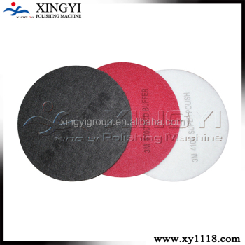 Different color for different usage 3m polishing pads