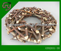 WOOD STICK decorative garlands