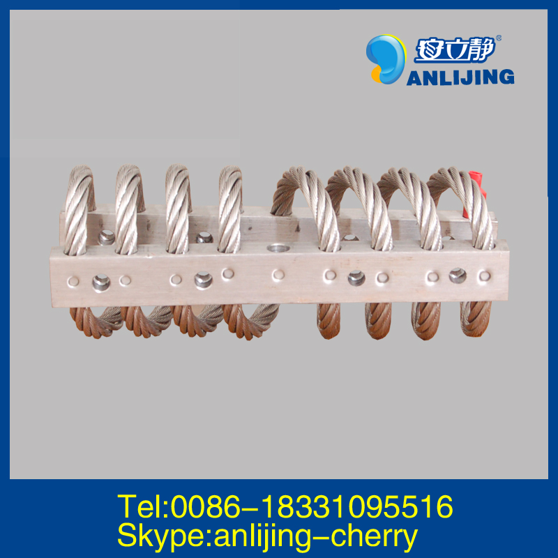 Aeroflex Helical Vibration Wire Rope Isolator Loop Assy GS 7 Series