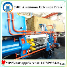 650T Aluminums Extrusion Press Line , extrusion press plant,650T aging furnace aluminum extrusion press