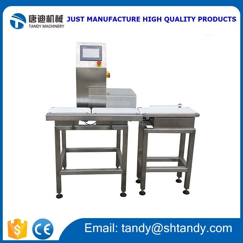 Automatic check weigher weighing scales / conveyor weight inspection machine