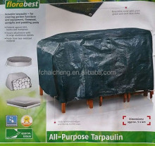 versatile tarpaulin for covering garden furniture and equipment,firewood,sandips and padding pools