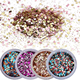 new products Top quality mixed Sequins Assorted Colors shiny chunky glitter
