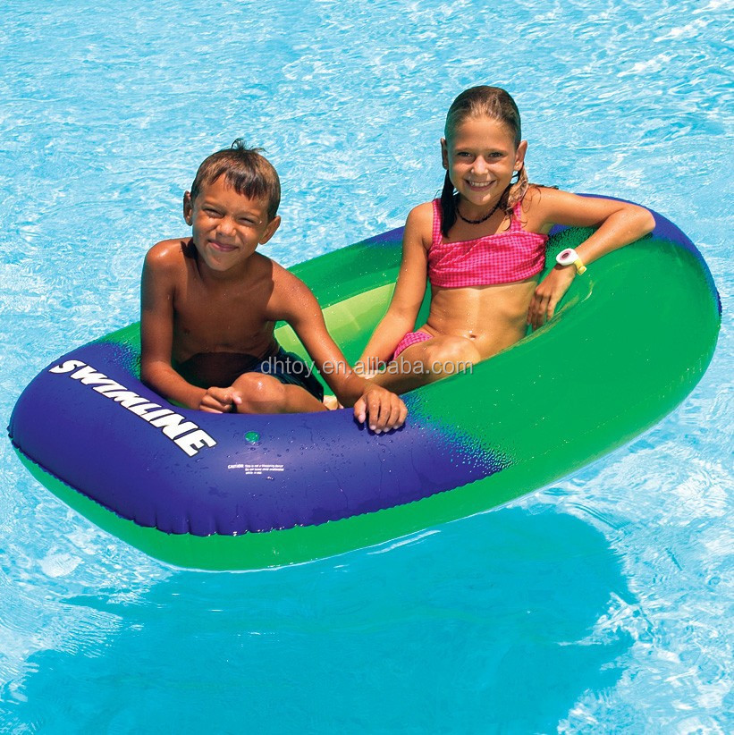 Swimline Kids Super Graphic Inflatable Jet Boat