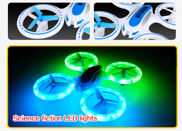 Night Lights Mini Drone Helicopter ,3D Fly Gyro Drone RC Copter ,Mini RC Quadcopter Drone Toys ,